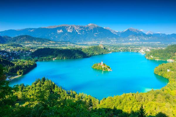 Slowenien Bled See