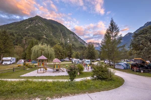 Slowenien Triglav Nationalpark Campingplatz