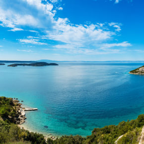 Kroatien: 5 Tage im Glamping-Resort direkt am Meer nur 55€