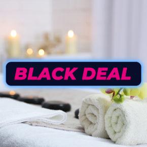 BLACK DEAL: Wellness Gutschein: Tageskarte für Therme nach Wahl inkl. Sauna mit Hotel & Frühstück exklusiv nur 69€
