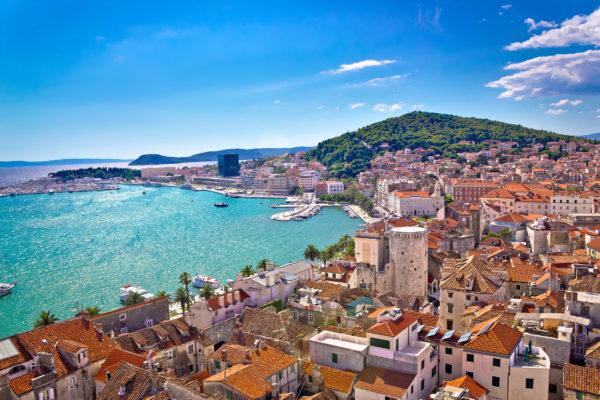 Kroatien Split Overview