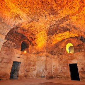 Kroatien Split Diokletianpalast Keller