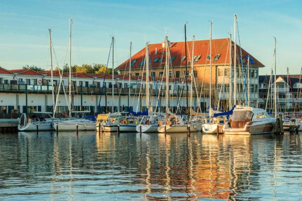 Deutschland Usedom Karlshagen Hafen