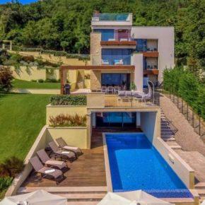 Luxusurlaub in Kroatien: 5 Tage in moderner Ferienvilla mit Pool & Sauna für 297€ p.P.