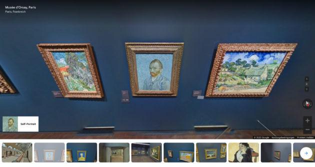 Musée d'Orsay Paris virtueller Rundgang