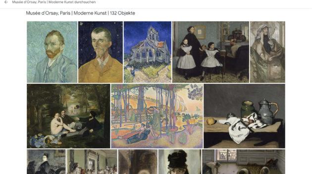 Musée d'Orsay Paris Sammlung