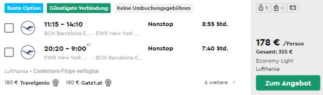 New York Flug