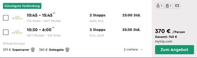 14 Tage Phuket Flug