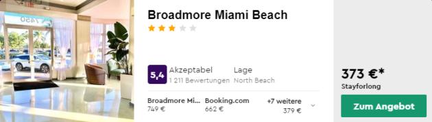 8 Tage Miami Hotel