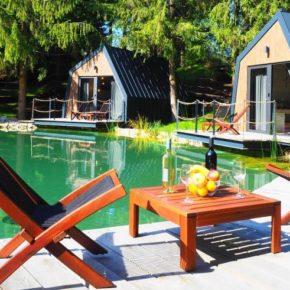 Glamping in Kroatien: 2 Tage an die Plitvicer Seen im eigenen Lake House nur 66€