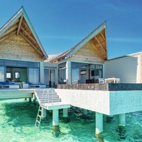 Overwater Villa mit Pool: 8 Tage Luxus auf den Malediven im TOP 5* Resort mit Frühstück, Flug & Transfer für 3.051€