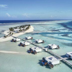 Luxusurlaub: 10 Tage Malediven im neuen TOP 5* Hotel mit All Inclusive, Flug, Transfer & Zug für 2.675€
