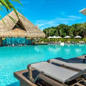 Traumurlaub: 10 Tage Mexiko im TOP 5* Strandresort mit All Inclusive, Flug & Transfer für 1.474€
