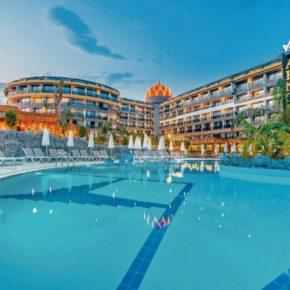 Luxus: 7 Tage Türkei im neuen 5* Resort mit All Inclusive, Flug, Transfer & Zug nur 566€