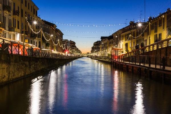 Italien Mailand Kanal