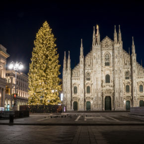 Weihnachtsshopping in Milano: 3 Tage übers Wochenende inkl. 4* Hotel & Flug nur 87€