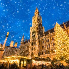 Zum Weihnachtsmarkt nach München: 2 Tage übers WE im TOP 3* Hotel nur 21€