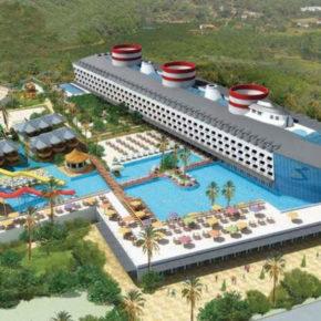 Urlaub im Kreuzfahrtschiff-Hotel: 7 Tage Türkei im TOP 5* Hotel mit All Inclusive, Flug & Transfer nur 463€